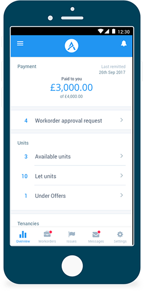 Tenants Mobile App - Sterling