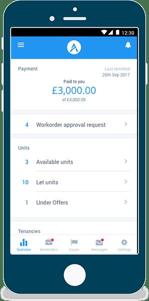Tenants Mobile App - Sterling