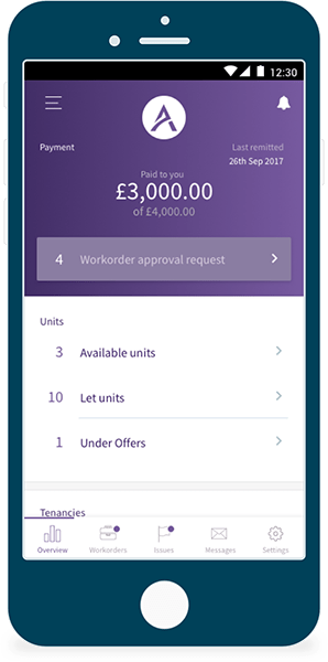 Tenants Mobile App - Avalon