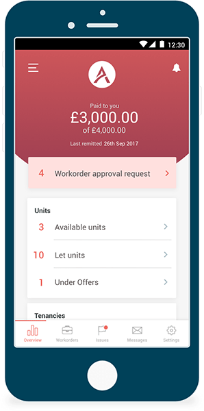 Tenants Mobile App - Qadira