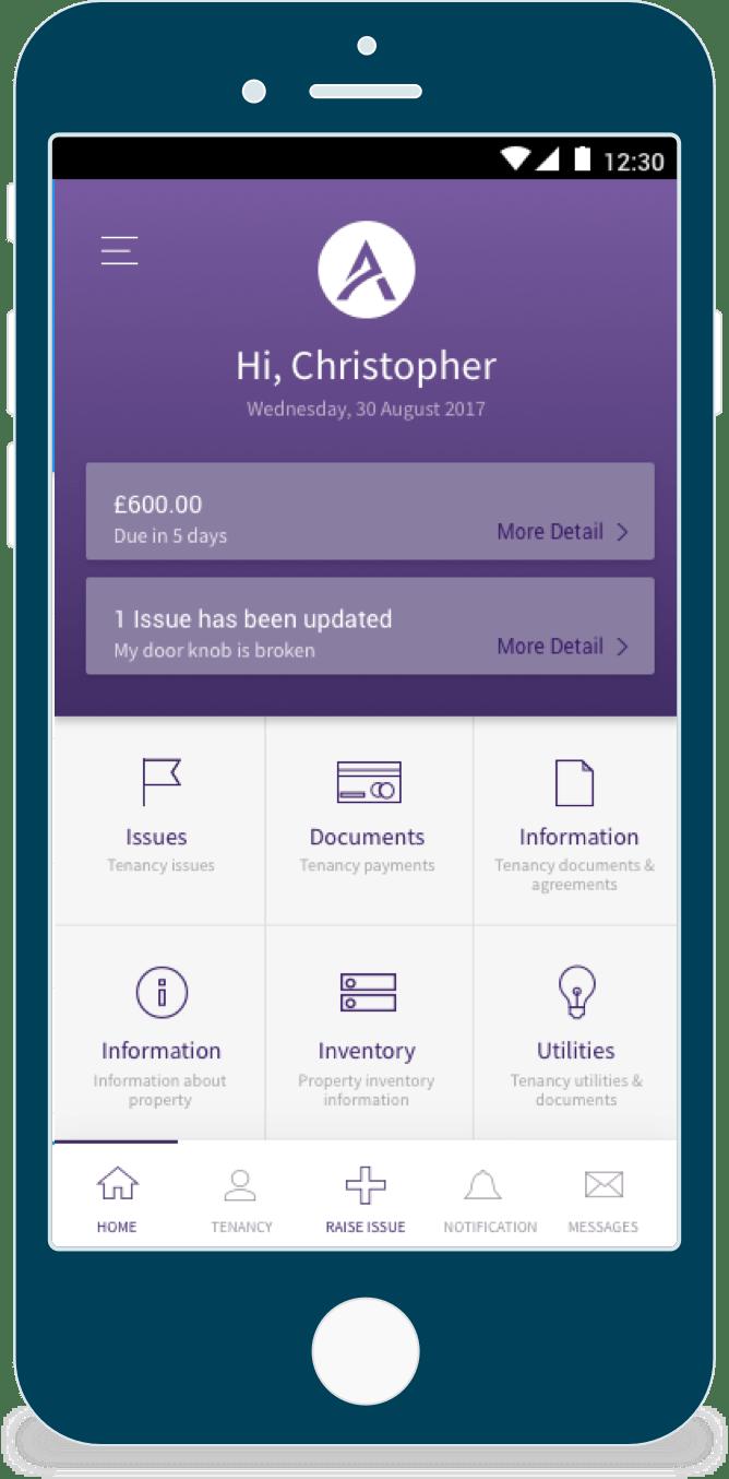 Tenants Mobile App - Avalon