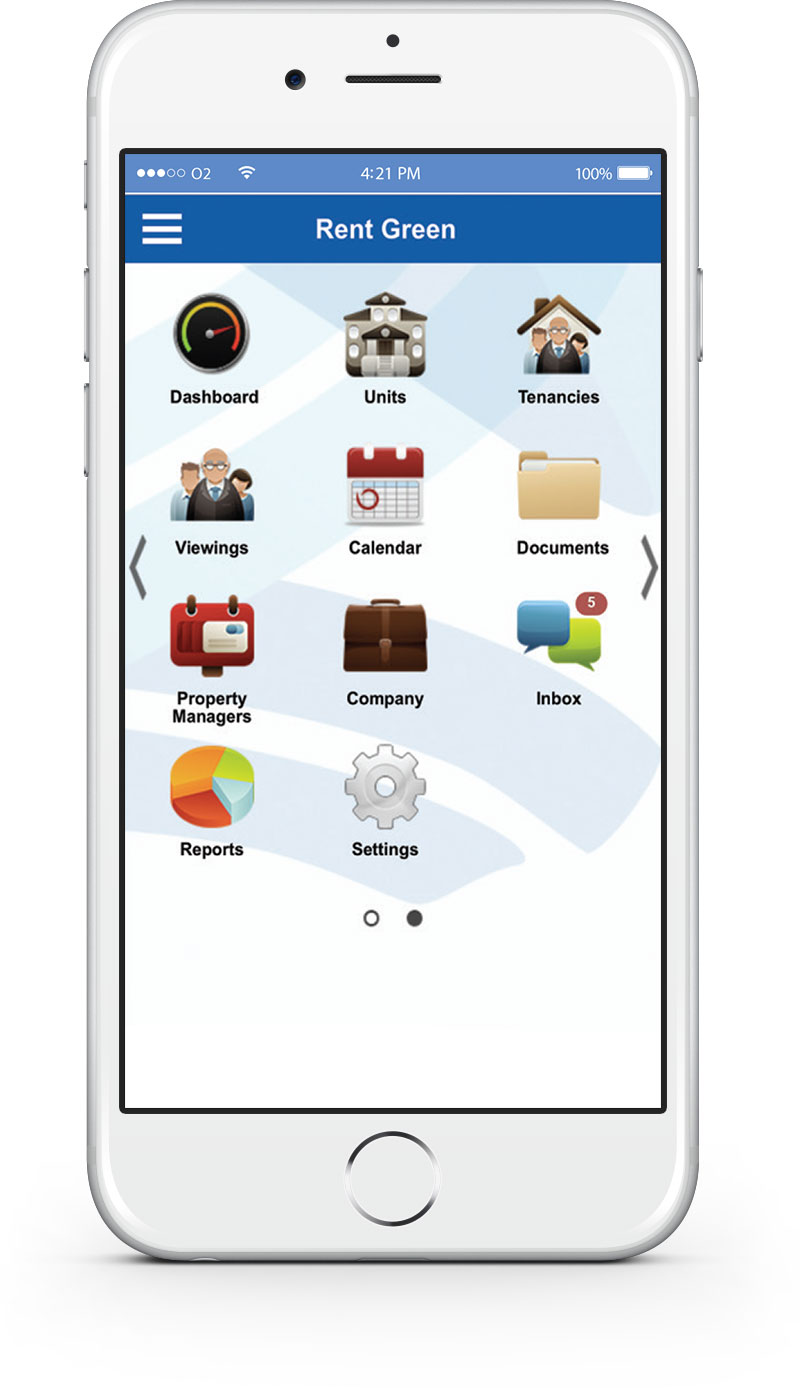 Letting Agents Mobile App