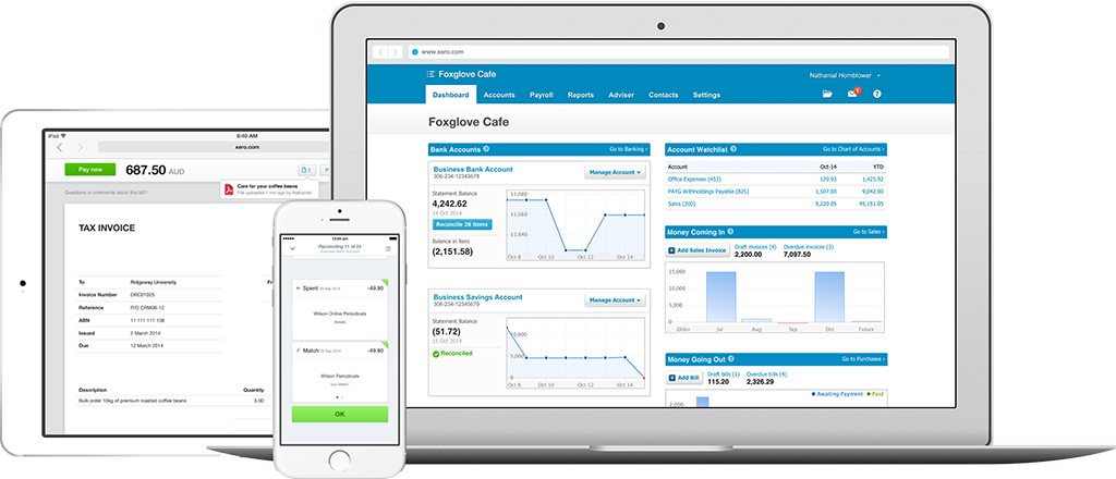 Arthur integrated with Xero