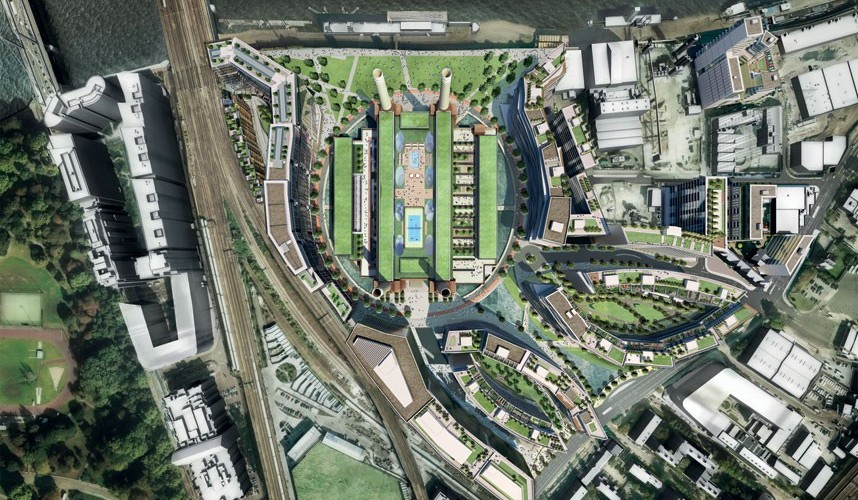 Battersea Power Station Development Highlights London's Construction Growth