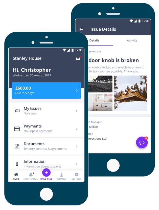 tenant management app