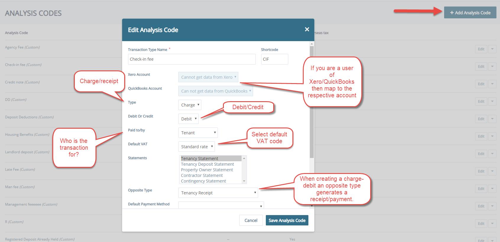 How to Set-up Custom Analysis Codes - Arthur Online