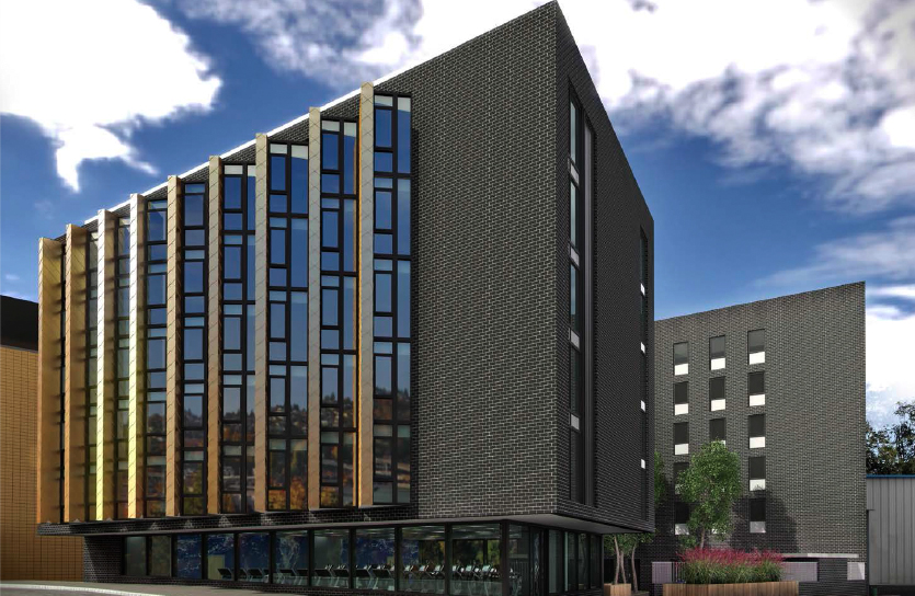 Locations of planned new student accommodation
