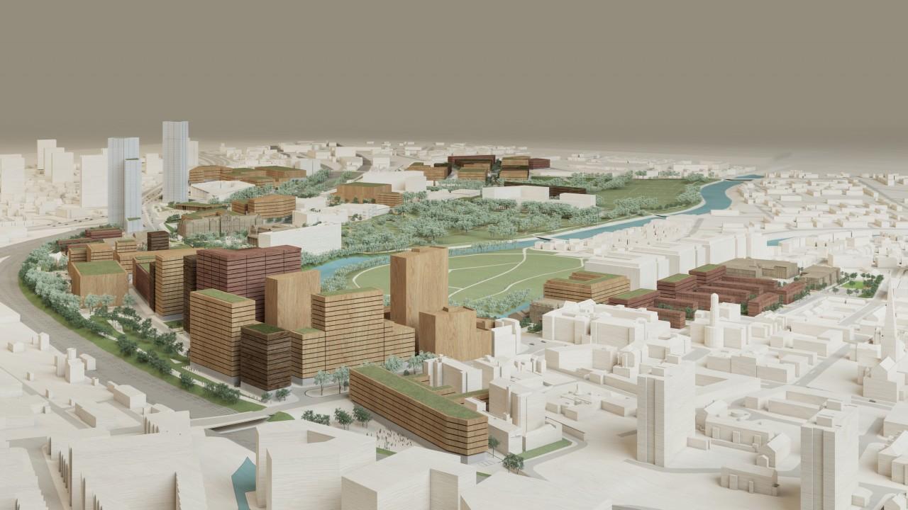 Salford Crescent master-plan revealed!