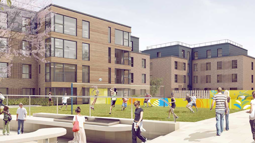 Where are the latest student housing developments?