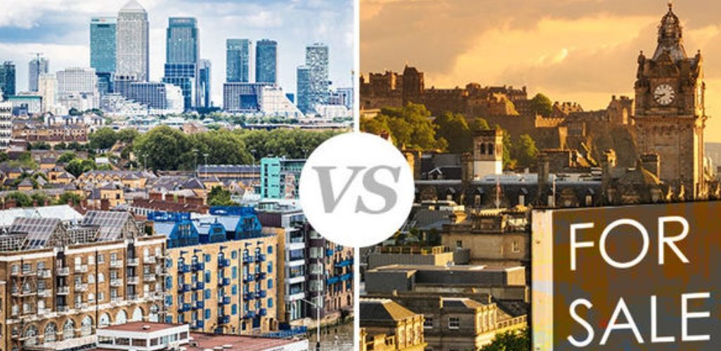 North vs. South house price WAR: London properties slump as the NORTH soars