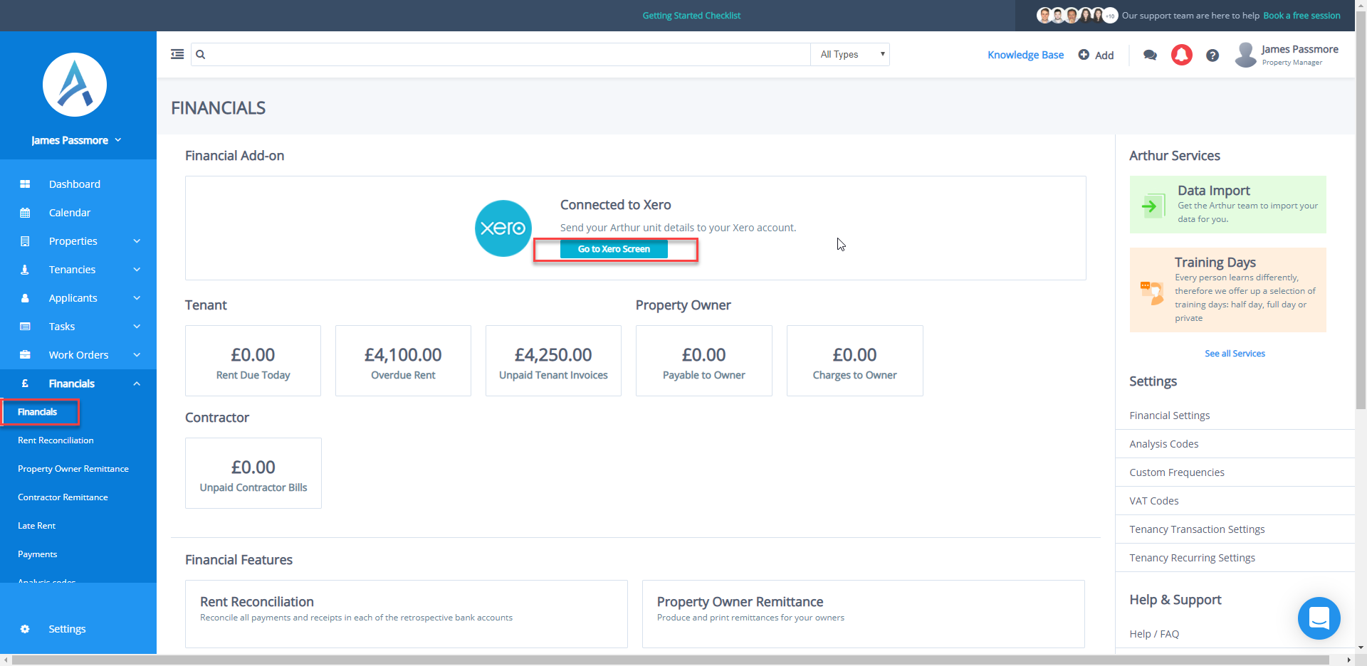 Part Refunding Deposits (Xero Users) - Arthur Online